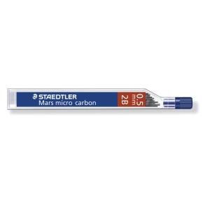Staedtler nyomósirón betét, 0,5 mm, 2B, 12 db/csomag