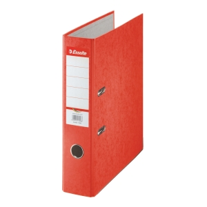 ESSELTE 13648 L/A FILE C/BOARD 75MM RED