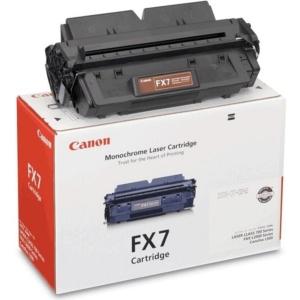 CANON TINTAPATRON FX-7 FEKETE, L2000-HOZ, KAPACITÁS: 4.500 OLDAL