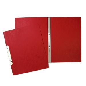 Prespán 1/1 függő gyorsfűző, piros A4, 20 darab/csomag