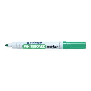 Centropen 8559 marker fehértáblához, gömbölyű hegy, zöld