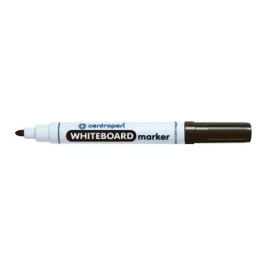 CENTROPEN WHITE BOARD MARKER B/TIP BLK