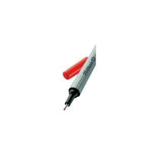 Pelikan 96 tűfilc, 0,4 mm, piros
