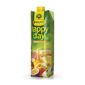 Happy Day gyümölcslé 100% multivitamin, 1l