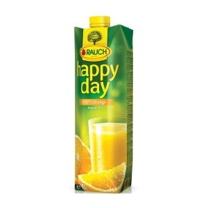 HAPPY DAY ORANGE JUICE 100% 1L