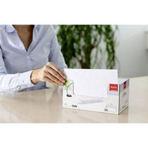 ELCO 74533 boríték  szilikon jobb ablakos, C5/6 80G ,fehér,, 200 darab