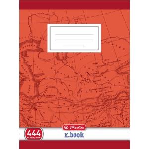 Herlitz iskolai füzet 444, A4 vonalas, szegéllyel