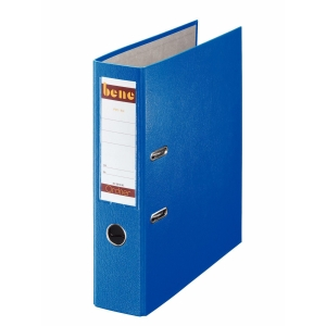BENE 291400 L/ARCH FILE A4 80MM LAB BLU