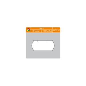 S&K Label árcímkék 26 x 12 mm, contact, fehér, 1500 címke/tekercs, 38 tek/csom