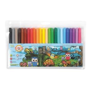 Koh-i-noor filctollak, vegyes színek, 24 db/csomag
