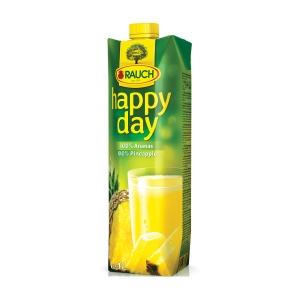 HAPPY DAY 100% JUICE 1L PINAPPLE