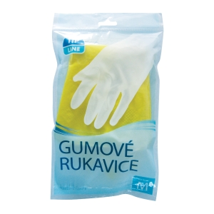 PK2 HOUSEHOLD GLOVES GUM M/8