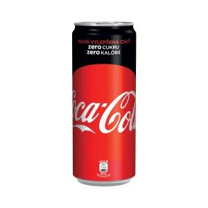 Coca-Cola Zero, dobozos 0,33 l, 24 darab/csomag