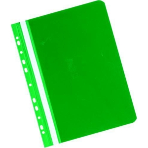 Herlitz függő panorámás gyorsfűző, zöld, 20 darab/csomag