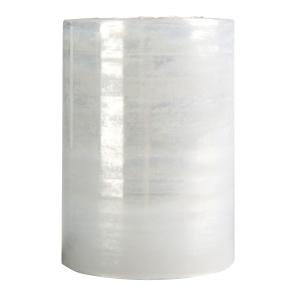 Sztreccsfólia - gránát, átlátszó, 23 mikron, 10 cm x 100 m