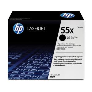HP toner lézernyomtatókhoz 55X (CE255X) fekete