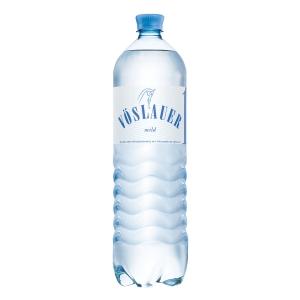 Vöslauer enyhe asványvíz 1,5 l, 6 darab/csomag