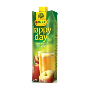 HAPPY DAY APPLE JUICE 100% 1L