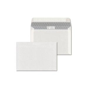 Szilikonos borítékok LC/6 (114 x 162 mm), bélésnyomott, fehér, 1000 darab/csomag