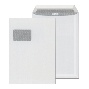 Szilikonos tasakok LC/4 (229 x 324 mm), bélésnyomott, fehér, 250 darab/csomag