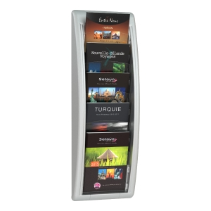 PAPERFLOW 4063 DISPLAY RACK A5 GREY