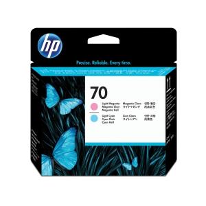 HP nyomtatófej 70 (C9405A) világos magenta/világos ciánkék