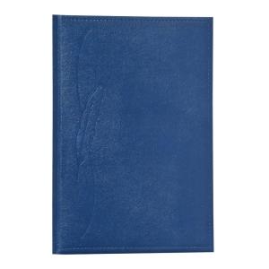 Traditional tárgyalási napló B5, kék