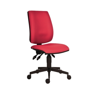 Antares 1380 Asyn Flute irodai szék, aszinkron mechanika, piros