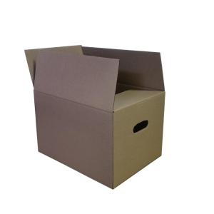 BX10 C/BOARD BOX SINGLE WALL 550X350X350