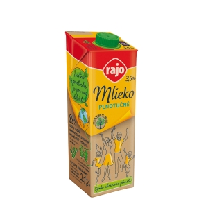 UHT MEGGLE MILK 3,5% WITH OPENER 1L