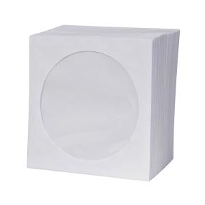 Papírborítékok CD lemezekre, 100 darab/csomag