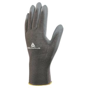 SUBSTITUTION: DELTA PLUS VE702P multipurpose gloves, size 8, white, 12 pairs