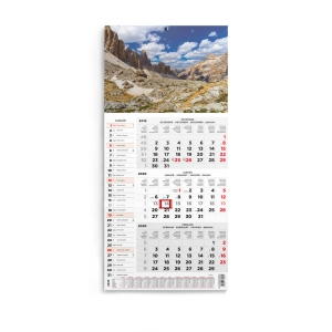 KALENDART T077 WALL CALENDAR MOUNTAIN
