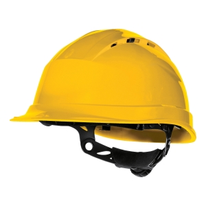 DELTAPLUS QUARTZ UP IV SAFETY HELMET YLW