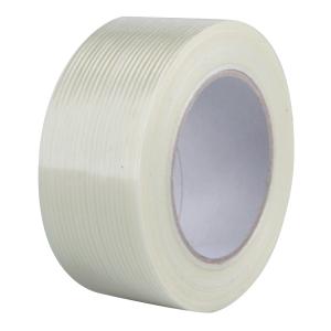 Filament csomagolószalag, 50 mm x 50 m, átlátszó