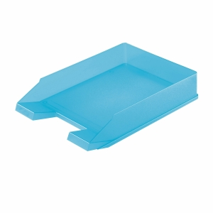 HERLITZ LETTER TRAY A4 LIGHT BLUE