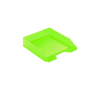 HERLITZ LETTER TRAY A4 LIGHT GREEN