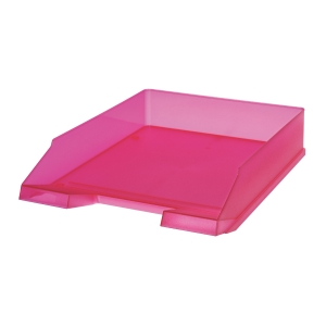 HERLITZ LETTER TRAY A4 PINK