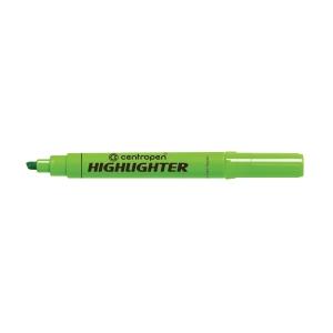 CENTROPEN 8552 HIGHLIGHTER C/TIP GREEN