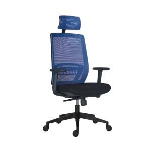 Antares Above Mesh irodai szék, szinkron, kék