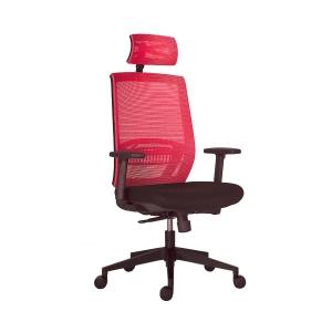 Antares Above Mesh irodai szék, szinkron, piros