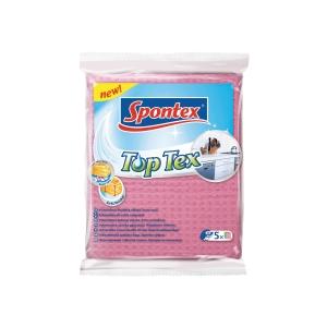 Spontex TopTex szivacsos törlőkendő, 5 darab/csomag
