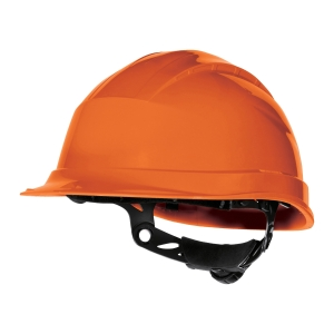 DELTAPLUS QUARTZ UP 4 SAFETY HELMET ORGE