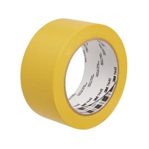 Padlójelölő vinil ragasztószalag, 50mm x 33m, szín: sárga