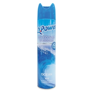 Q Power légfrissítő spray óceán, 300 ml