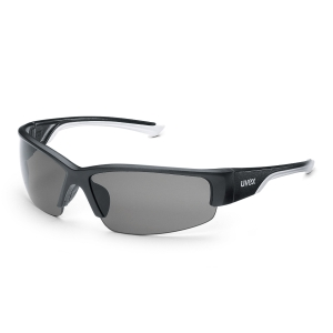UVEX POLAVISION védőszemüveg, fekete/fehér