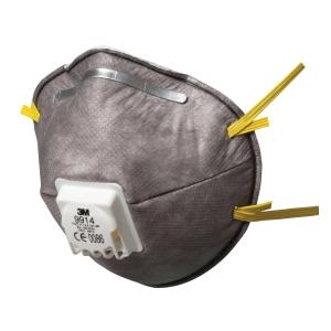 3M™ 9914 speciális részecskeszűrő félálarc, 10 darab/csomag