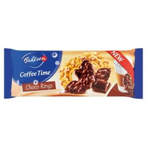 Coffee Time csokoládés karikák 155 g