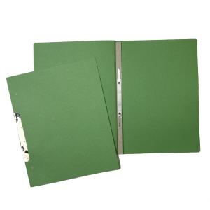 Ekonomik 1/1 függő gyorsfűző, zöld, 50 darab/csomag
