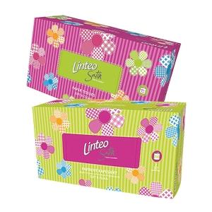 Linteo Satin papírzsebkendő, 2-rétegű, 200 darab/csomag